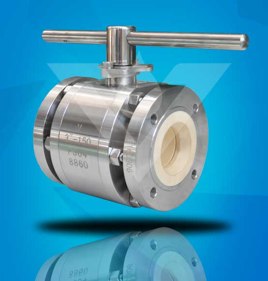 Ceramic Ball Valve in Stainless steel body