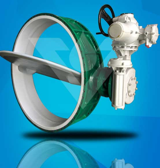 Big Size FEP Lined Butterfly Valve