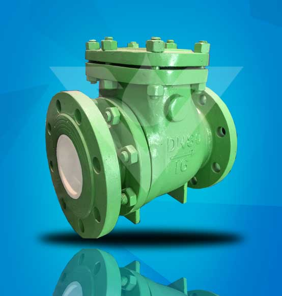 Ceramic Lined Swing Check Valve