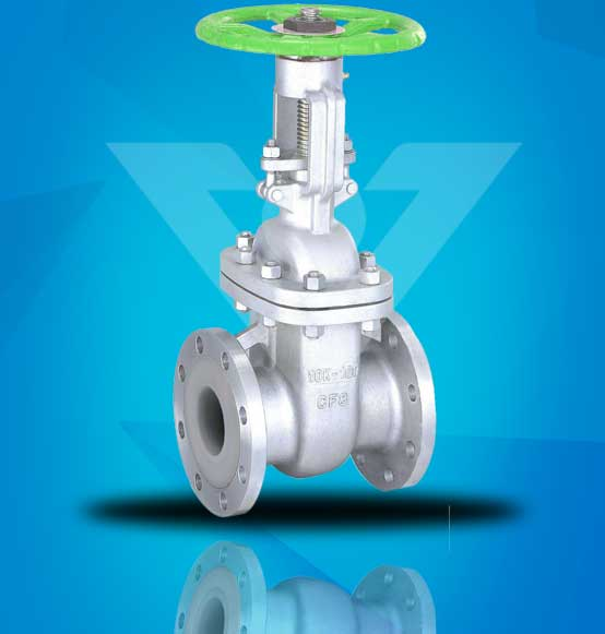 PFA Lined Gate Valve