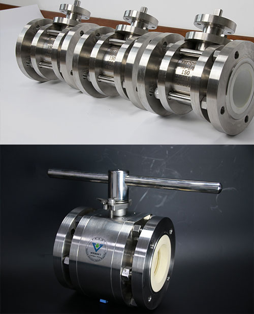 VerSpec Ceramic Lined Ball Valve Supply to Czech