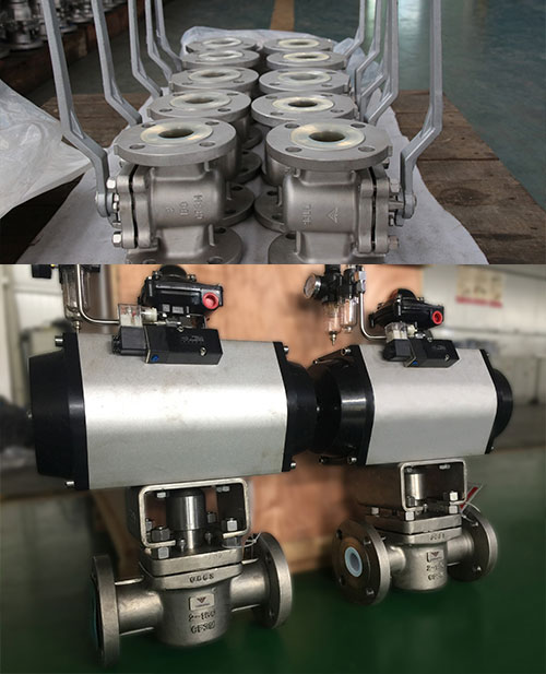 VerSpec PFA Lined Plug Valve Supply to Italia