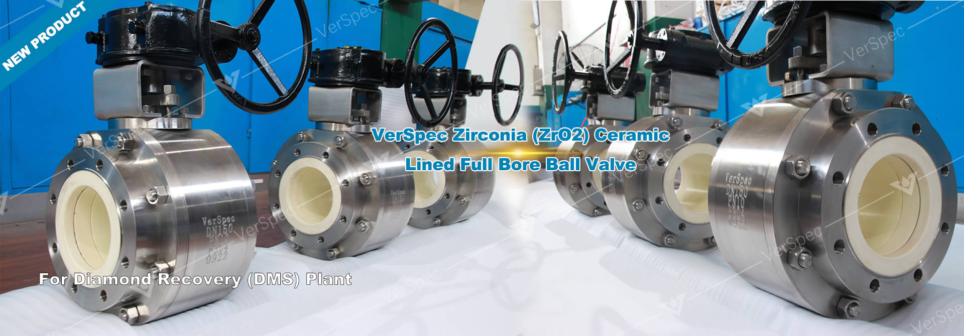 Verspec Moyan Series Short Pattern Ceramic Ball Valve