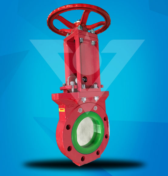 High Abrasion-resistant PU Lined Knife Gate Valve
