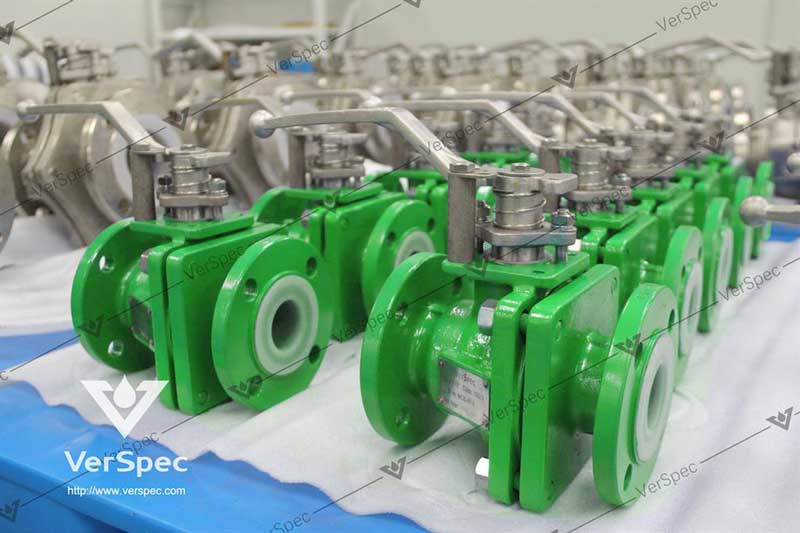 pfa lined ball valve manufacturer