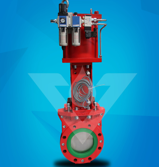 Polyurethane Lined Knife Gate Slurry Valve